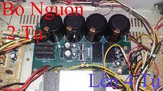 Hướng dẫn thay bo lọc nguồn 4 tụ SVA cho âm ly hỏng bo nguồn hoặc nâng cấp bo nguồn