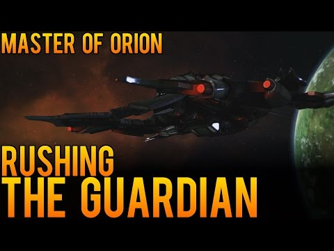Master of Orion - Rushing the Guardian - Early Access Strategy for Conquering Orion Early