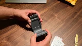 Unboxing Alligator Clip smartphone holder