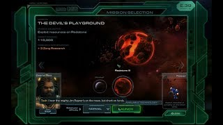 Wings of Liberty - The Devil's Playground - Walkthrough of Starcraft II