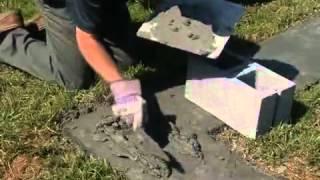 How To Build A Concrete Block Wall By Sakrete