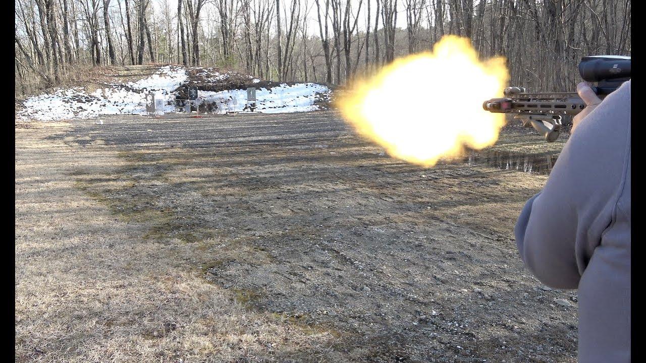 Olight BALDR Red Laser Weapon Light At The Range