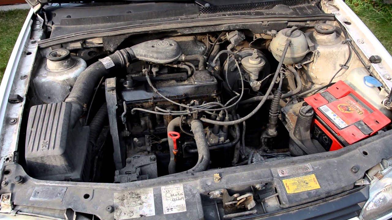 Volkswagen Golf III 18 engine start and sound HD  YouTube