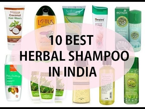 Best Herbal Shampoo For Hair Loss In India