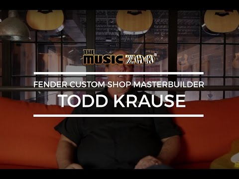 Fender Masterbuilder Todd Krause At The Music Zoo