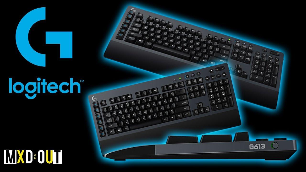 8a779012ac7 Logitech G613 Wireless Mechanical Gaming Keyboard Review - YouTube
