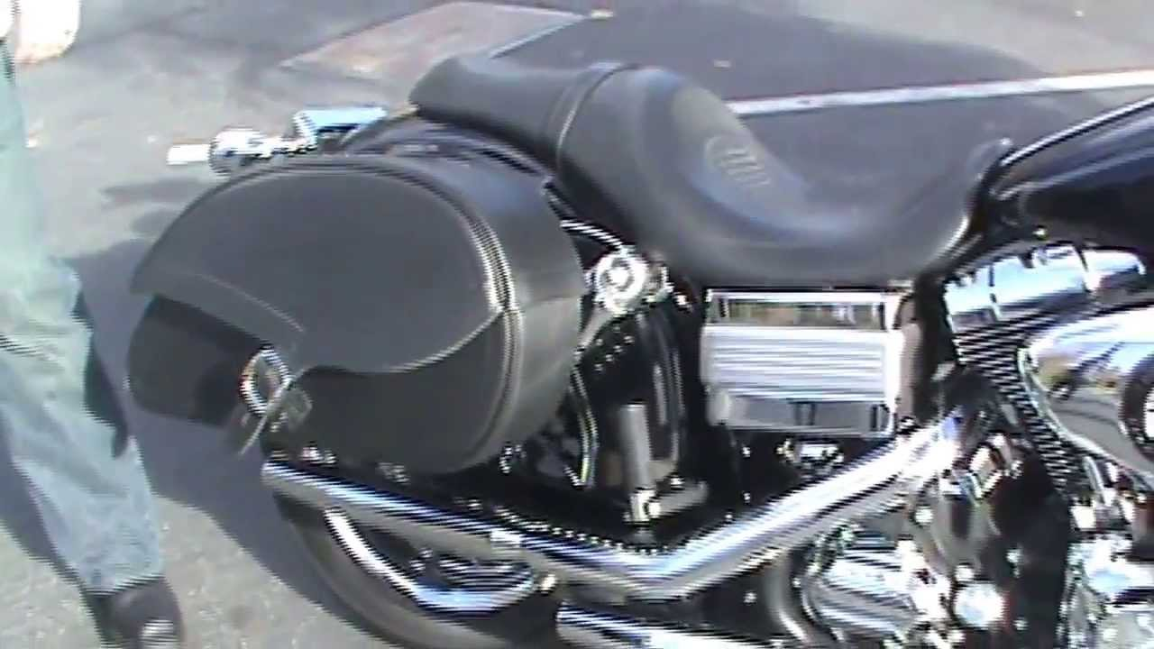 2009 harley davidson dyna low rider motorcycle saddlebags review