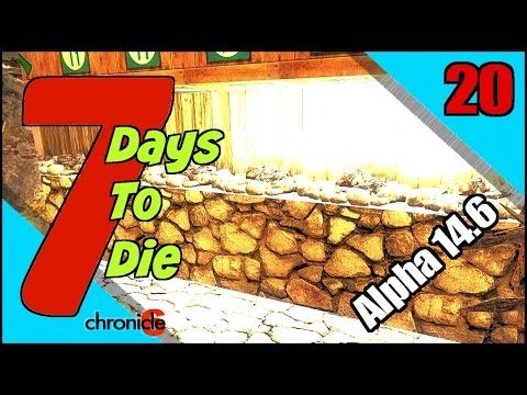 7 Days To Die Alpha 14.6 Let's Play / Episode 20 - Cooking Oil Shale to Make Gas