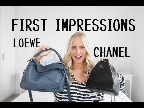 Handbag First Impressions - CHANEL AND LOEWE | Chloe James