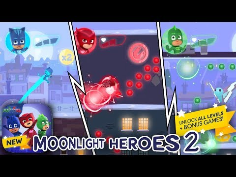 PJ Masks Moonlight Heroes 2 - Official NEW! iPad Game