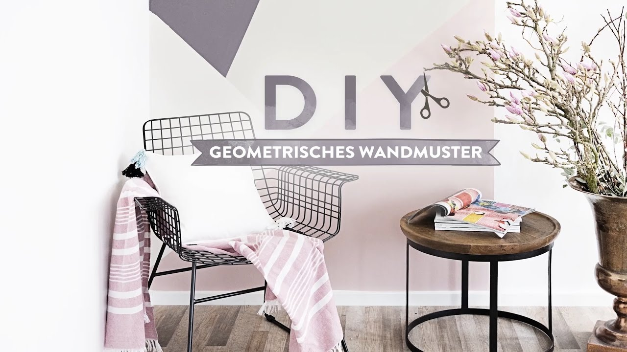 Geometrisches Wandmuster Westwing Diy Tipps Youtube