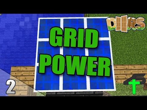 GRID POWER | #2 | Minecraft Doors | Items4Sacred [GER]