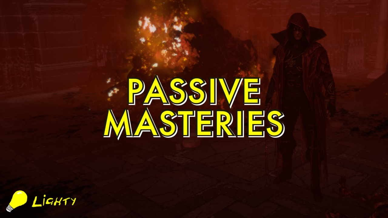 Download New Passive Notable Masteries | Path of Exile