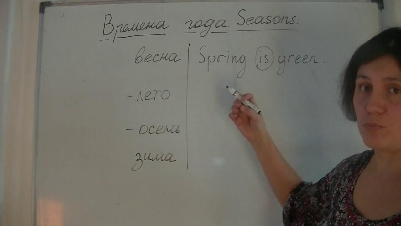 перевод слова весна на английский