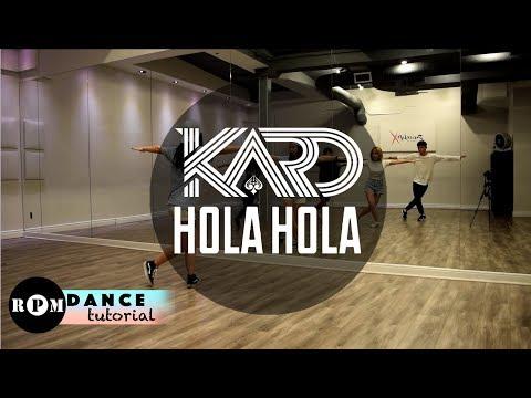 """KARD """"Hola Hola"""" Dance Tutorial (Chorus)"""