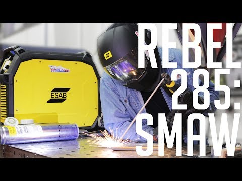 🔥Stick Welding Test: ESAB Rebel EMP 285
