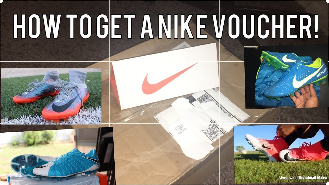 Nike Voucher! (How to get free cleats