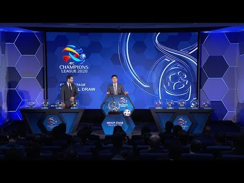 #ACL2020 Group Stage Draw (Video News)