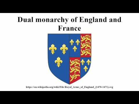 Dual monarchy of England and France