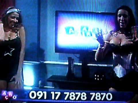 Priscilla Guedes e Ana Rosa no Azaração thumbnail
