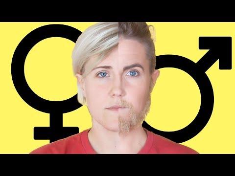 Gender Makeup Transformation! || Hannah Hart