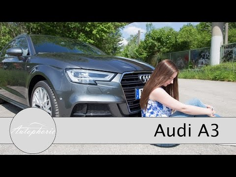 2016 Audi A3 2.0 TFSI (190 PS) Facelift 2016 Test / Review (ENGLISH Subtitles) - Autophorie