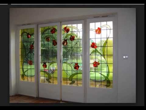 Latest home window designs home design ideas pictures for Door n window designs