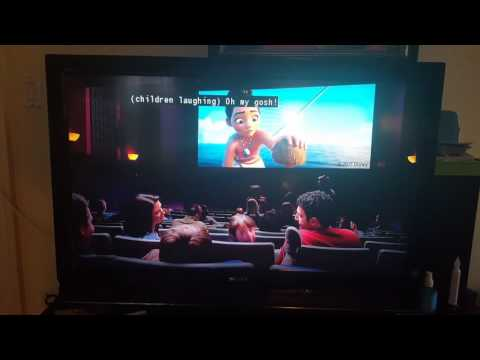 Walmart commercial with Disney's Moana (2-4-17)