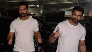 John Abraham At SPECIAL Screening Of Batla House