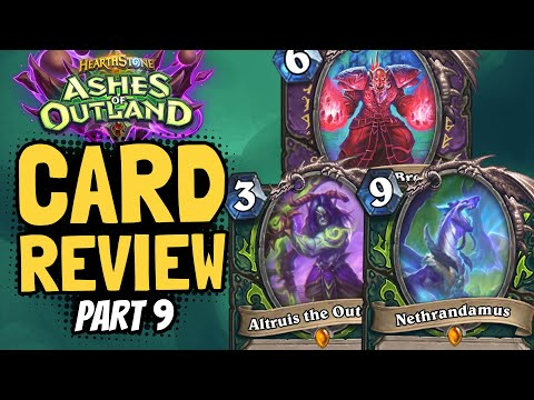 LEGENDARY DEMON HUNTER DRAGON!! Tons More Crazy Cards! | Outland Review #9 | Hearthstone