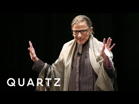 Ruth Bader Ginsburg at Sundance on #MeToo and sexual harassment