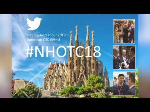 Become a sponsor of Nicholas Hall's 2018 European OTC Conference