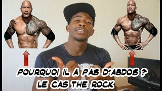 Le Cas the rock pourquoi il a pas d'abdos ? instagram marvel.fitnes...