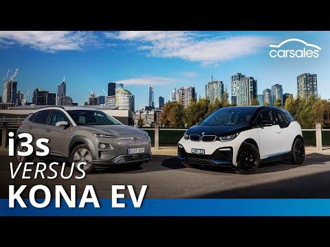 2019 BMW i3s v Hyundai Kona Electric Comparison Test | carsales