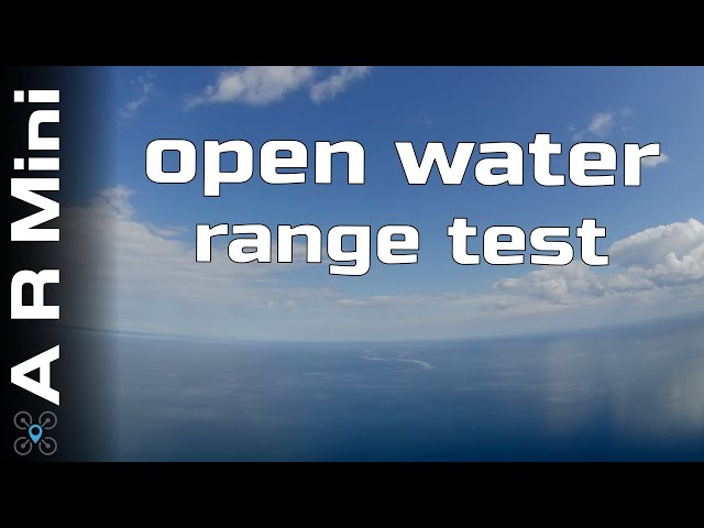 Flying far out on Open water for a range test | Mini Ar Wing EP:08