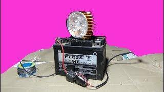 Cara Mudah Membuat Lampu Blitz LED.
