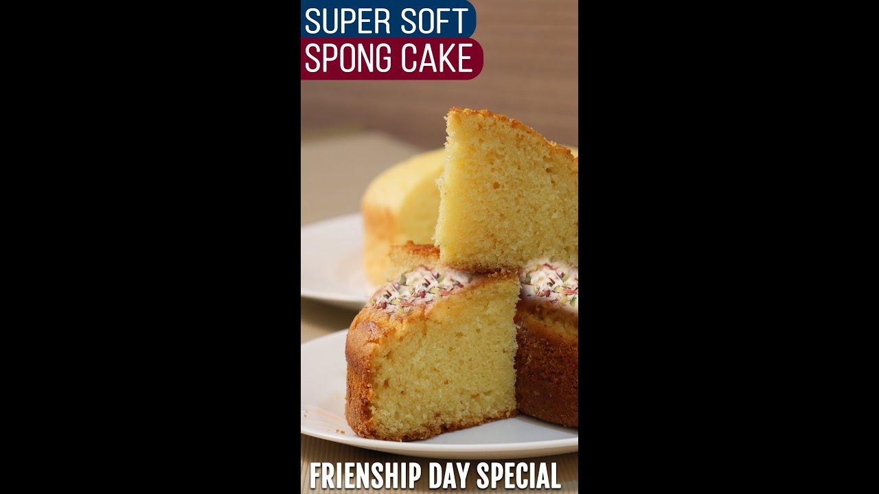 #shorts Friendship Day Special Cake Recipeदोस्ती के दिन बनाइये सबसे आसान केक, बिना ओवन,मैदा और अंडा