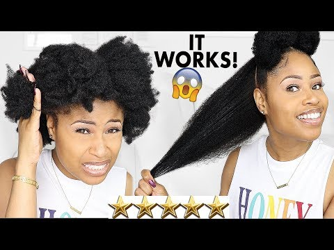 Trying Top-Rated DETANGLERS For NATURAL HAIR!  [I'm Still Shocked]