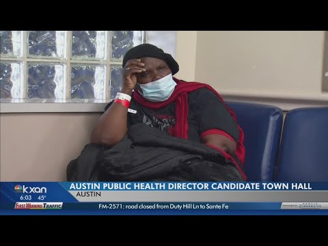 From flu to food: Austin interviews new Public Health Director