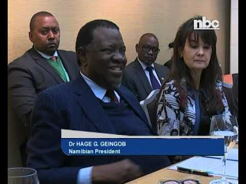 Don't judge Africa for seeking funding from China - President Geingob