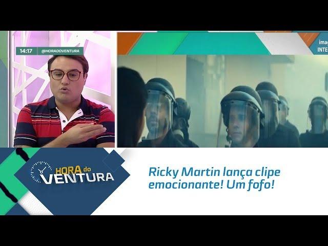 Ricky Martin lança clipe emocionante! Um fofo! - Bloco 01