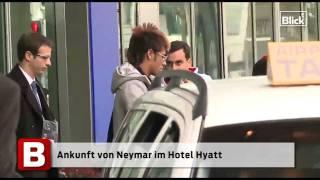 Fifa-Gala in Zürich: Ankunft von Zinédine Zidane und Neymar