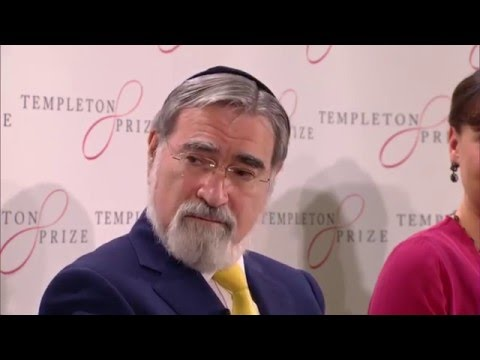 Templeton Prize Press Conference (complete), March 2, 2016, London.  Rabbi Lord Jonathan Sacks