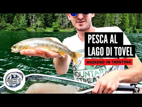 HO PESCATO AL LAGO DI TOVEL - Weekend in Trentino - Episodio 2