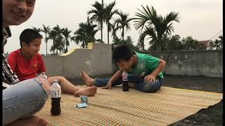 #nguyễnchannel #giúpmọingườigiảitrí uống pesi siêu hài | nguyễn channel