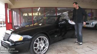 1996 Mercedes Benz SL600R for sale with test drive, driving sounds, and walk through video