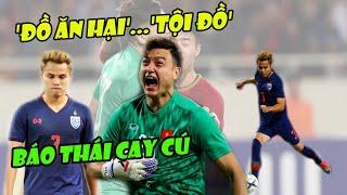 Tin bóng đá Việt Nam 20/11: Quá cay cú báo Thái gọi cầu thủ đội nhà là TỘI ĐỒ