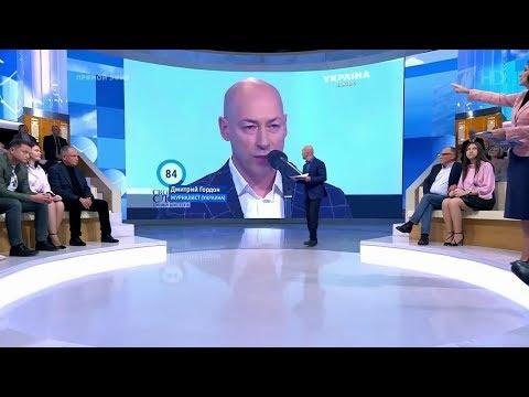 """Гордон и его позиция по Донбассу на """"Первом канале"""" (Россия)"""