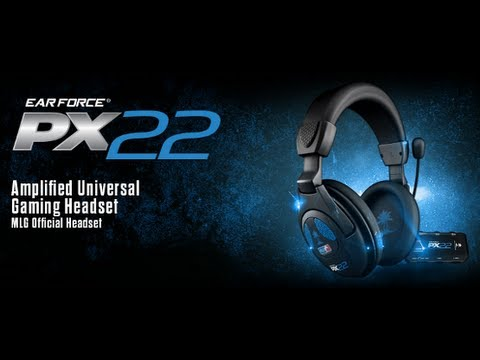 TurtleBeach Px22 Unboxing + Update + Mic Test