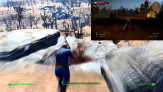 Fallout 4 vs Witcher 3: map comparison